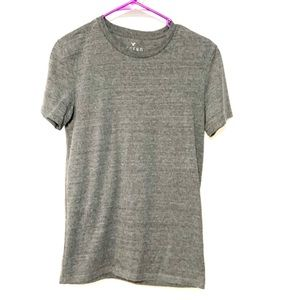American Eagle boy style gray tee classic fit XS